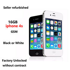 Apple iPhone 4S 16G Factory Unlocked Smartphone work for Wcdma GSM Black & White