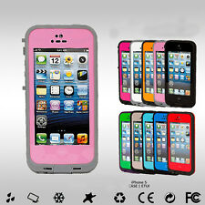 Waterproof Shock Proof Water Proof Case Cover for Apple iPhone 5 & 5S NEW