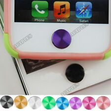 CD Pattern Aluminum Metal Home Button Sticker For iPhone4/4S 5 iPad itouch act
