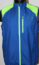 Puma Golf 1/4 Zip Wind Vest - Surf the Web Blue - 2016 Collection