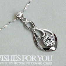 """women pure 925 sterling silver italy jewelry 1mm star chain 18"""" necklace pendant"""