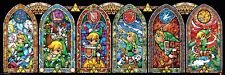 The Legend of Zelda Link Stained Glass Windows Slim Poster 91.5x30.5cm