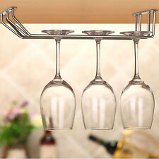 Wine Glass Rack Cabinet Stand Home Dining Bar Tool Shelf Holder Hanger 3 Size