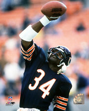 Chicago Bears WALTER PAYTON Stretched Action 16x20 Action Sports Canvas #6