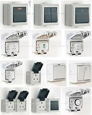 SMJ Outdoor Weatherproof Power Switches Socket Junction Sunset Timer IP 45/54/66