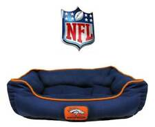 NFL Dog Bed * PICK YOUR TEAM * Football Sports Team Puppy Pet Cat Nesting Pillow