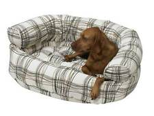 BOWSERS Double Donut Dog Bed * 56 COLOR CHOICES * Microvelvet Pet Puppy Sofa