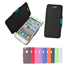 New Deluxe Flip Synthetic Leather Slim Cover Magnetic Case Skin For Apple iPhone
