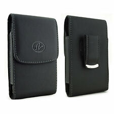 Leather Belt Clip Case Pouch Cover Virgin Mobile HTC Phones