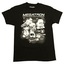 Transformers Megatron Blueprints Officially Licensed Adult Graphic Tee Shirt