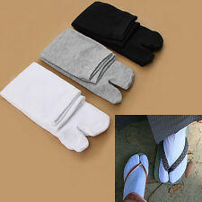New Popular Japanese Kimono Flip Flop Sandal Split Toe Tabi Ninja Geta Socks