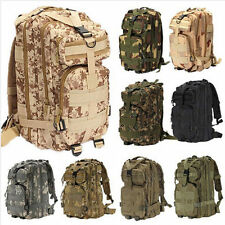 Outdoor Hiking Camping Camo Bag Army Military Tactical Travel Rucksack Backpack
