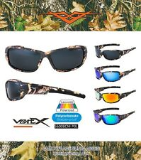 VertX Polarized Camouflage Sport Sunglasses Hunting Fishing Outdoor 56008POL