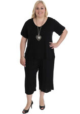 New Plus Size Rayon Crop Pants | Loose Fit | Flowing & Comfortable 18 to 28