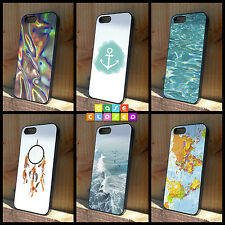 TUMBLR BOY GIRL FOIL PASTEL WATER For iPhone Samsung HTC Hard/Rubber Case Cover