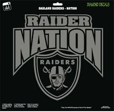 Oakland Raiders Nation Shield Arch NFL Football Vinyl Decal Car Window Sticker