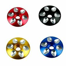 "1 1/8"" Road BMX Bike Cycling Bicycle Aluminum Stem Top Cap Threadless Headset"