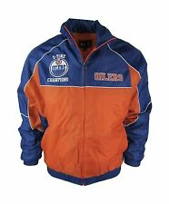 Edmonton Oilers Men's M L XL 2XL 5 Time Champions Winter Jacket  NHL A12MRF