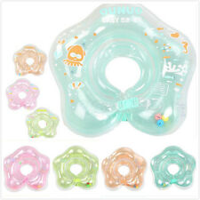 Aerated Swimming Infant Lifebuoy Baby Float Collar Tube Ring Neck Safety Kids