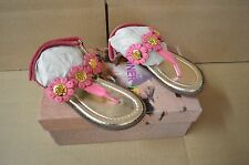 Pliner Jrs Girls Toddler Fidrazz Pink Leather Sandals