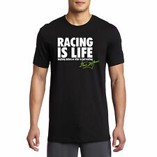 Racing Is Life Steve McQueen Inspired Quote Le Mans 24HR Racing T Shirt S-3XL
