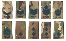 The Rifles Multicam Rank Slides Rifles Multicamo Rank Slides Rifles MTP Slides
