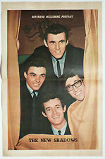 THE NEW SHADOWS - 1960'S MAGAZINE CENTREFOLD POSTER