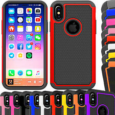 Shock Proof Dual Layer Silicone & Hard Case Cover For Various Mobile Cell Phone