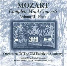 Mozart: Complete Wind Concerti- Vol. 2 - Flute (CD, Apr-1998 Free Shipping  128L