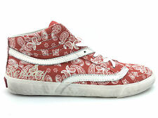 Replay Womens Trainers Ventura B Red Mid-Tops UK Size 3.5 & 6 NEW