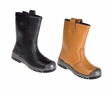 Mens Steel Toe Cap Portwest FW13 Steelite Rigger Boot Scuff Cap Safety Midsole