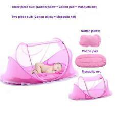 Baby crib mosquito tent travel bed nets summer cotton pillow /pad / mosquito net