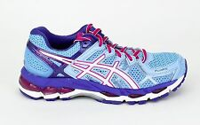 Asics Women's Gel-Kayano 21 Powder Blue/White/Hot Pink T4H7N-4401