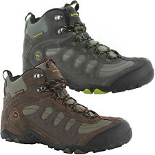 Hi-Tec Mens Penrith Mid WP Walking Boots Waterproof Trail Hiking Shoes
