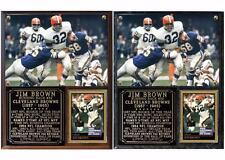 Jim Brown #32 Cleveland Browns Hall of Fame Photo Card Plaque
