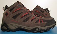 Mens 8-12 Columbia North Plains Mid Waterproof Leather Hiking Boots BM3895-231