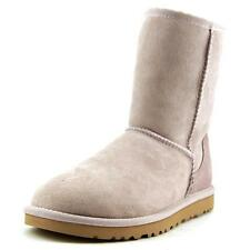 Ugg Australia Classic Short   Round Toe Suede  Winter Boot