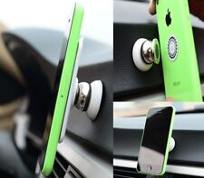 Rotating Magnet Car Holder Mount For SAMSUNG GALAXY NOTE 3 4 5 EDGE LG G2 G3 G4