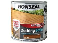 2.5L Ronseal Ultimate Protection Decking Stain ALL COLOURS
