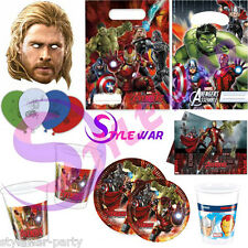 NEW BOYS BIRTHDAY PARTY SUPPLIES LAVENGERS MARVEL HERO STAR WARS CUPS PLATES