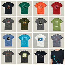 New Hollister Men's Logo Graphic Tee T-shirts Sizes S, M, L, XL