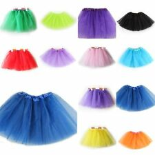 Baby Girls Kid 3 Layer Tutu Ballet Dance Dress Skirt Pettiskirt Birthday Costume
