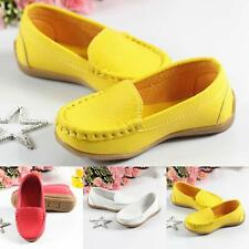 Fashion Kids Soft Flat Casual Shoes New Toddler Girls Boys Loafers Size