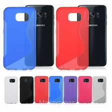 TPU Silicone Case Rubber S Line Soft Gel Skin Cover For Samsung Galaxy phone