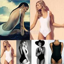 Sexy Women One Piece Swimsuit Push Up Padded Bikini Monokini Swimwear Beachwear