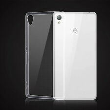 Soft Silicon TPU Transparent Ultra Thin Gel Back Case Cover For Sony Xperia SAJX