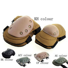 Military Army Tactical Protection Digital Combat Knee Elbow Pads Protective Set