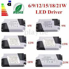 Dimmable 6/9/12/15/18/21W LED Driver Transformer Power Supply Driver Light Bulb