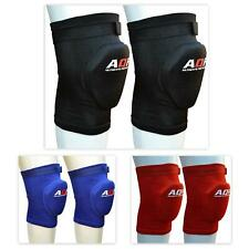 AQF Knee Pads Brace Protector Caps Support Pad Guards Work MMA Padded Gym Multi