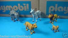 Playmobil zoo jungle safari circus zebra Lion elephant baby Lion pick ONE 123